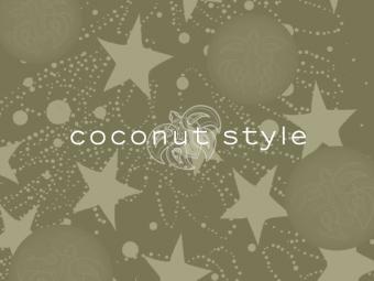 Coconut Style Xmas Card