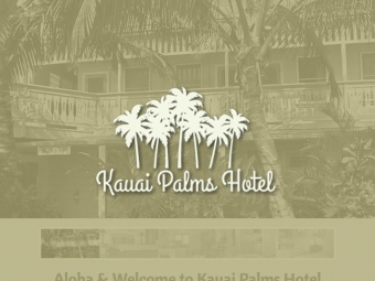 Kauai Palms Hotel Website