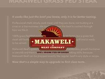 Makaweli Meat Company Sales Sheet