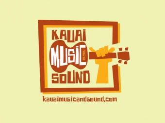 Kauai Music and Sound Logo