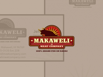 Makaweli Meat Company Collateral Corporate Identity