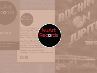 NuArt Records Print Collateral