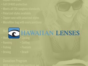 Hawaiian Lenses Sales Sheet