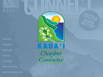 Kauai Chamber of Commerce Directory Cover 2017