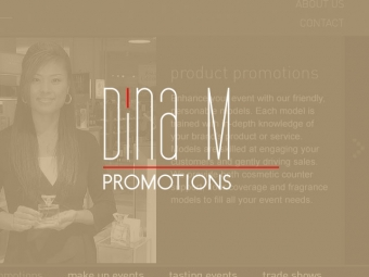 Dina M Promotions Website