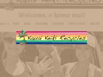 Kauai Keiki Recycles Website