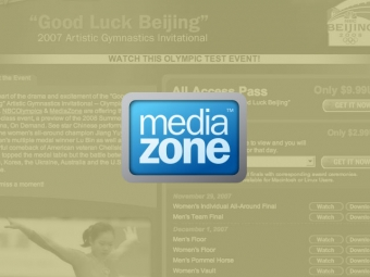 NBC and MediaZone Olympics Website