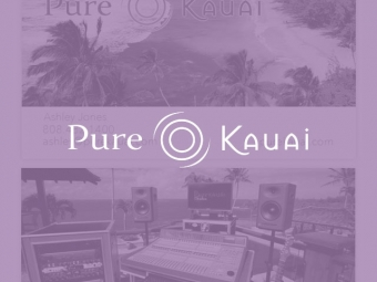 Pure Kauai Business Cards
