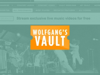 Wolfgang's Vault Video Production