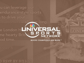 NBC Universal Sports Olympic Event Invite