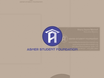 Asher Student Foundation Corporate Identity