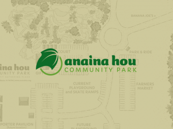 Anaina Hou Community Park Map Illustration