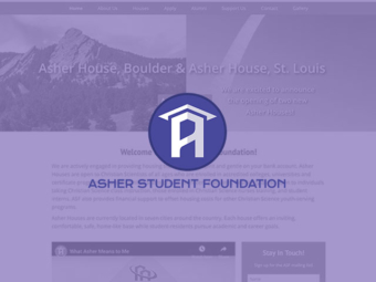Asher Student Foundation Website